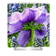 The Other Side Of Anemone   Shower Curtain