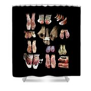 The Other Side Of Ballet. Shower Curtain