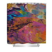 The Other Side Of Darkness Shower Curtain