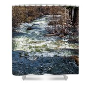 The Other Side Of The River Shower Curtain