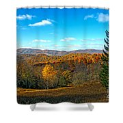 The Other Side Of The Road In Wv Shower Curtain