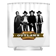 The Outlaws Collection Shower Curtain