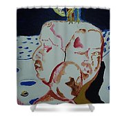 The Outsider.2015. Shower Curtain