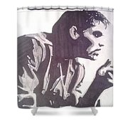 The Outsiders Death Of Dallas Shower Curtain