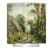 The Outskirts Of Berneval  Shower Curtain