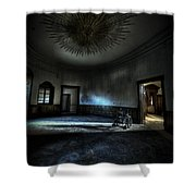The Oval Star Room Shower Curtain by Nathan Wright