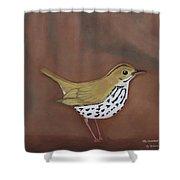 The Ovenbird Shower Curtain