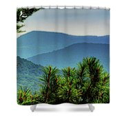 The Ozarks Shower Curtain