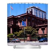 The Pacific - Union Club Shower Curtain