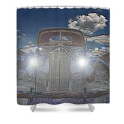 The Packard Shower Curtain