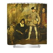 The Pages Shower Curtain