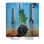 The Pain Holder II Shower Curtain