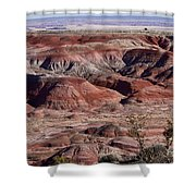 The Painted Desert  8062 Shower Curtain