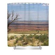 The Painted Desert Of Utah 1 Shower Curtain