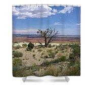 The Painted Desert Of Utah 2 Shower Curtain