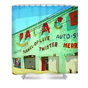 The Palace At Asbury Park Shower Curtain