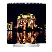 The Palace At Night Shower Curtain