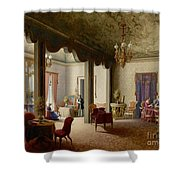 The Palace Of The Empress Alexandra Shower Curtain