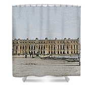 The Palace Of Versailles Shower Curtain