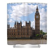 The Palace Of Westminster Shower Curtain
