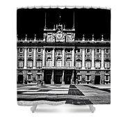 The Palacio Real, Madrid  Shower Curtain