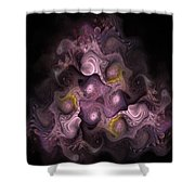 The Palatine Hill - Fractal Art Shower Curtain
