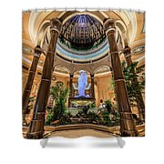 The Palazzo Inside Main Entrance Shower Curtain