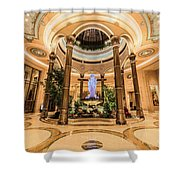 The Palazzo Inside Main Entrance Very Wide Shower Curtain