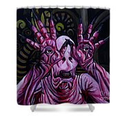The Pale Man Shower Curtain