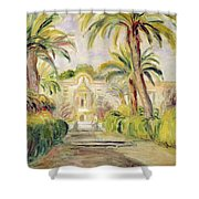 The Palm Trees Shower Curtain