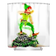 The Pan Shower Curtain