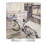 The Paper Route Shower Curtain