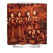The Parable Of The Ten Virgins Shower Curtain
