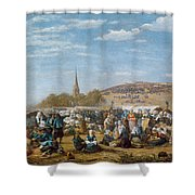 The Pardon Of Sainte Anne La Palud Shower Curtain