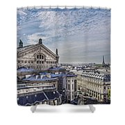 The Paris Opera 5 Art Shower Curtain