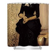 The Parisian Shower Curtain by Charles Giron