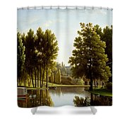 The Park At Mortefontaine Shower Curtain