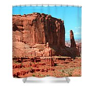 The Park Avenue Courthouse Spectacle Shower Curtain