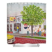 The Park Shoppe Portsmouth Ohio Shower Curtain