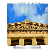 The Parthenon In Nashville Tennessee 2 Shower Curtain