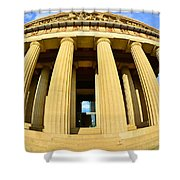 The Parthenon In Nashville Tennessee 3 Shower Curtain