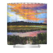 The Passage Into Night Shower Curtain
