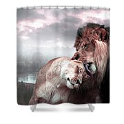 The Passion Shower Curtain