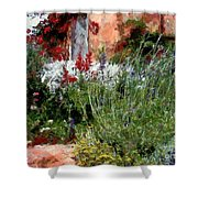 The Passion Of Summer Shower Curtain by RC DeWinter