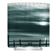 The Past Shower Curtain