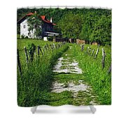 The Path Home Shower Curtain