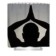 The Path Of Compassion Shower Curtain