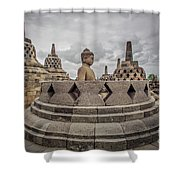 The Path Of The Buddha #1 Shower Curtain