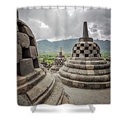 The Path Of The Buddha #2 Shower Curtain