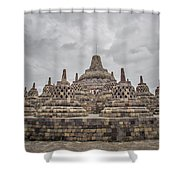 The Path Of The Buddha #3 Shower Curtain